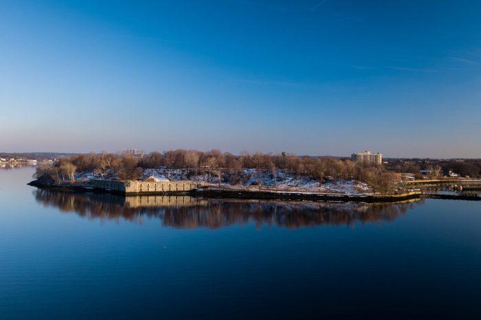 Fort Totten Park in Queens New York