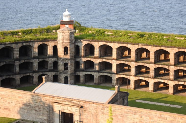 Fort Wadsworth in Staten Island
