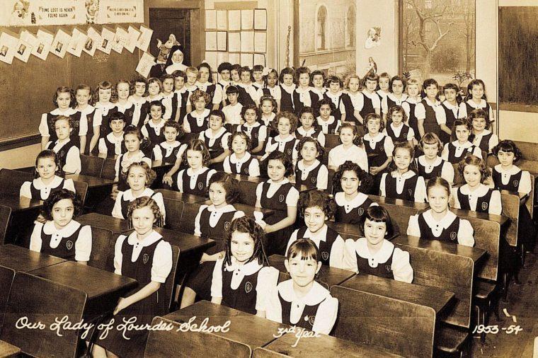 64 kids in class
