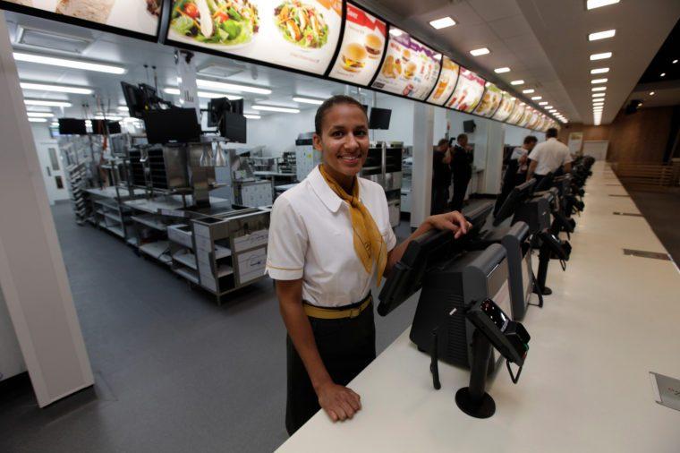 Britain London 2012 Games McDonald's