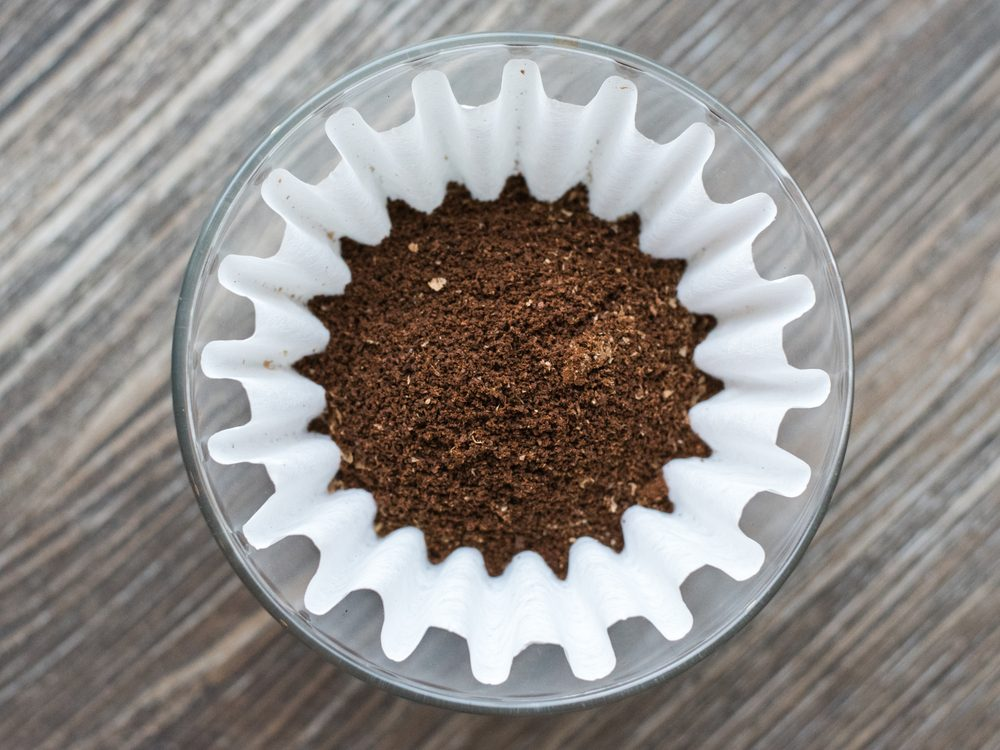 Coffee filter hacks