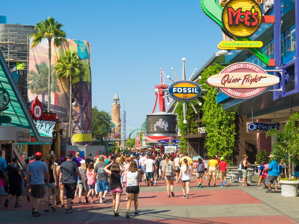 Theme park in Orlando, Florida