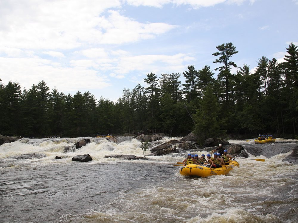 Day trips from Ottawa - Beachburg rafting Ottawa River