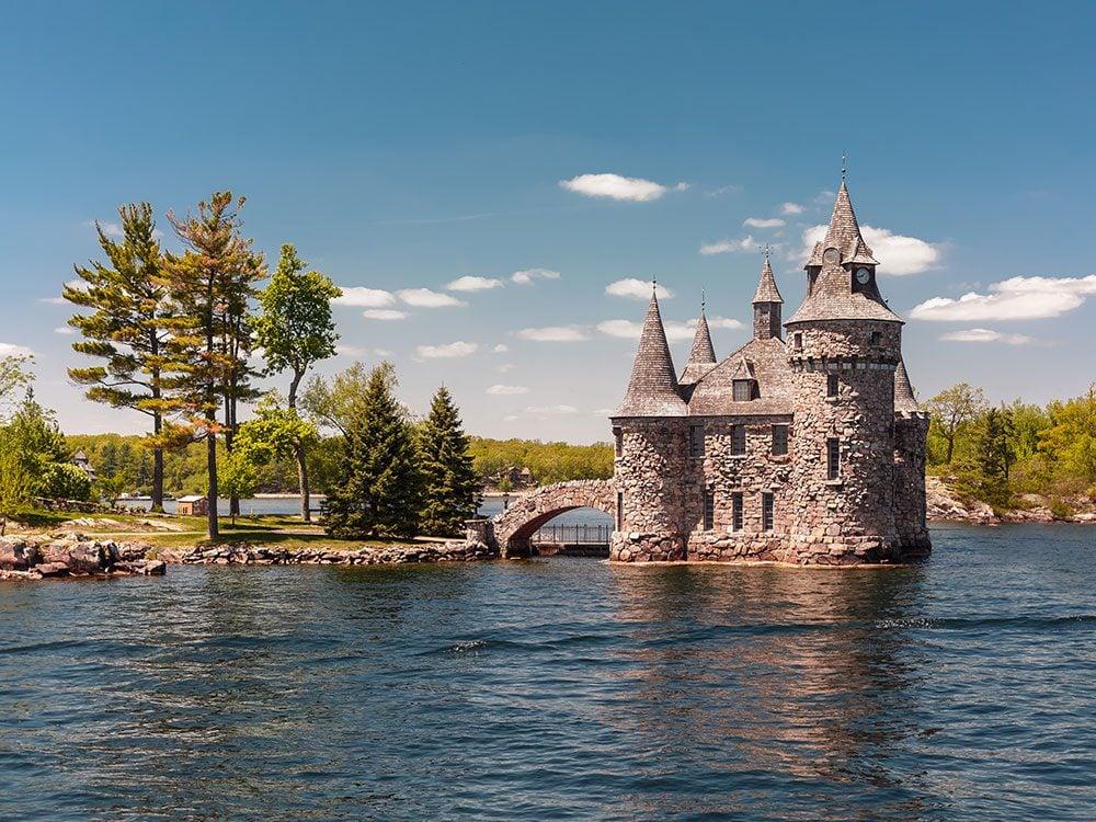 Day trips from Ottawa - Boldt Castle, Thousand Islands, Gananoque