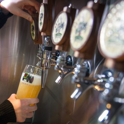 Day trips from Ottawa - Microbrewery taps, Beau's Brewing Company
