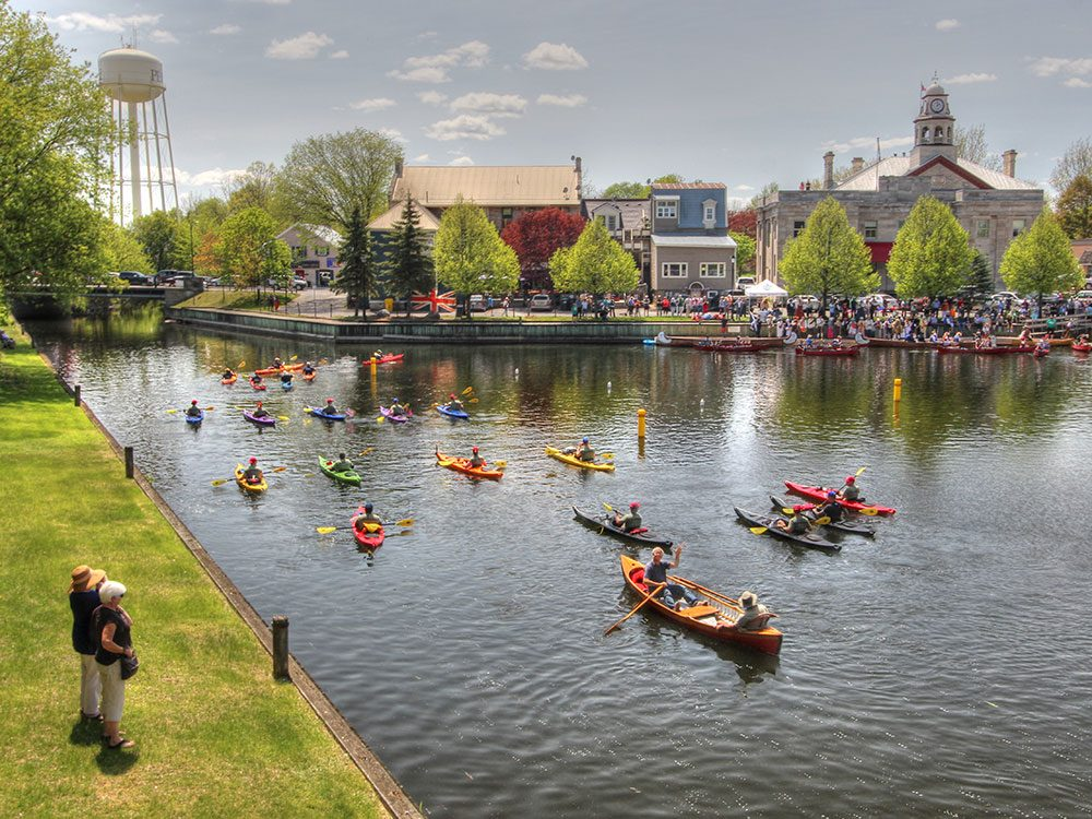Day trips from Ottawa - Perth County canoes