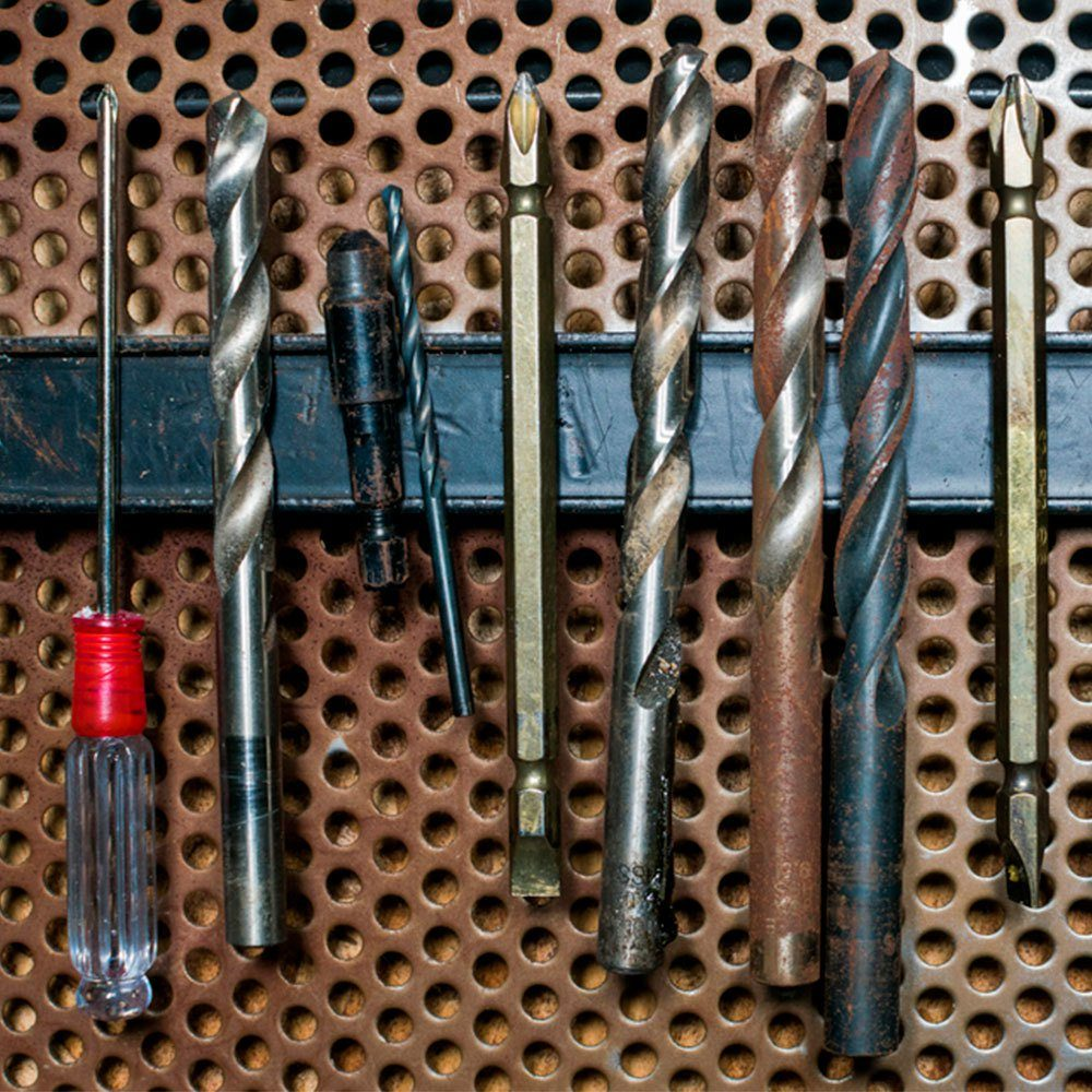 Use a Magnetic Bar for Smaller Tools