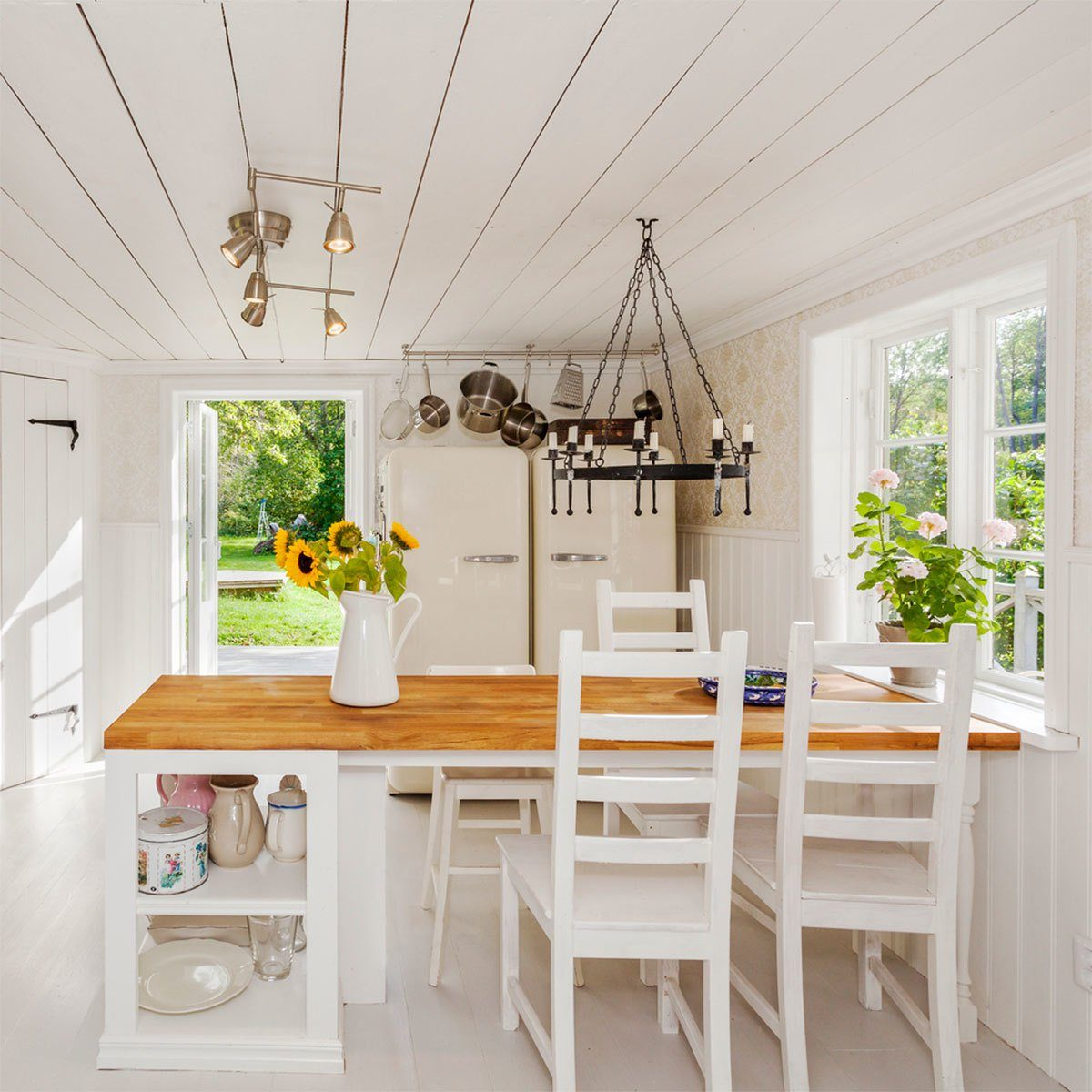 Kitchen Shiplap