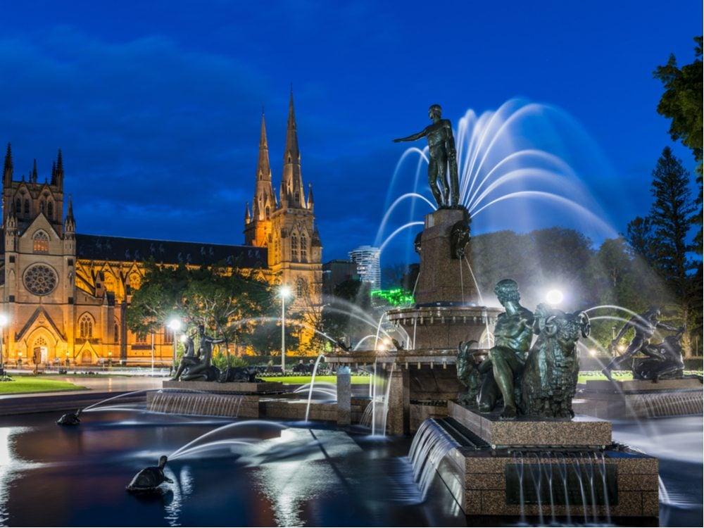 archibald fountain australia