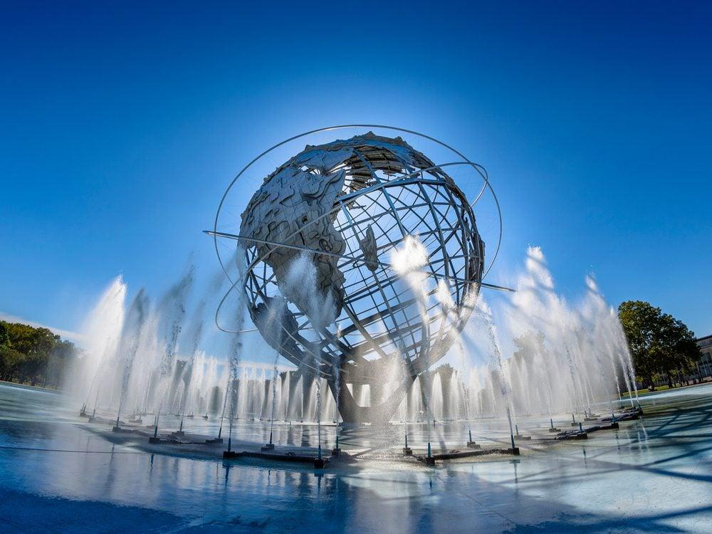 unisphere fountain