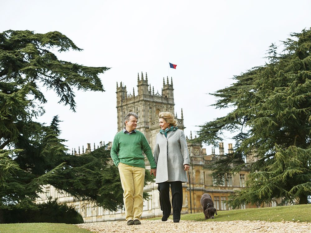 Highclere Castle - Lord and Lady Carnarvon