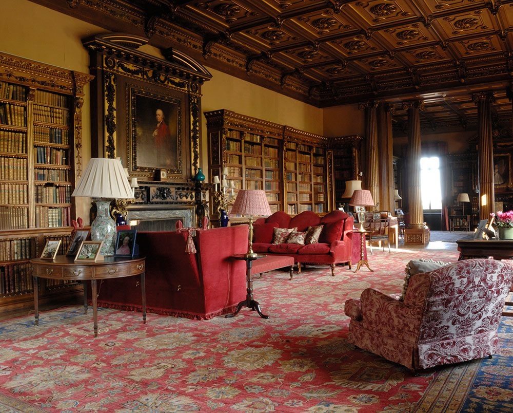 Highclere Castle - North Library