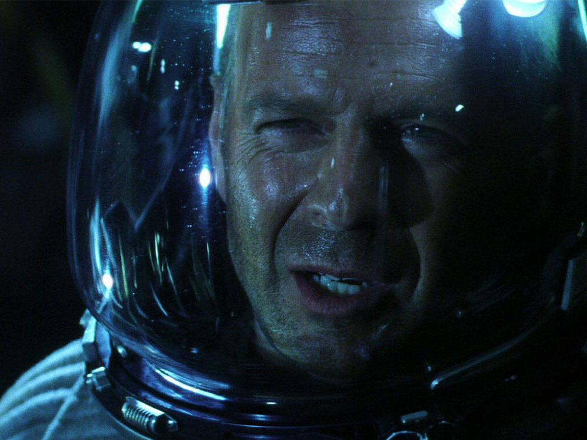 Bruce Willis in Armageddon