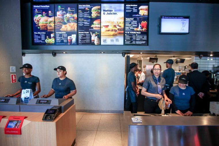 McDonald's Corporation new global headquarters, Chicago, USA - 04 Jun 2018