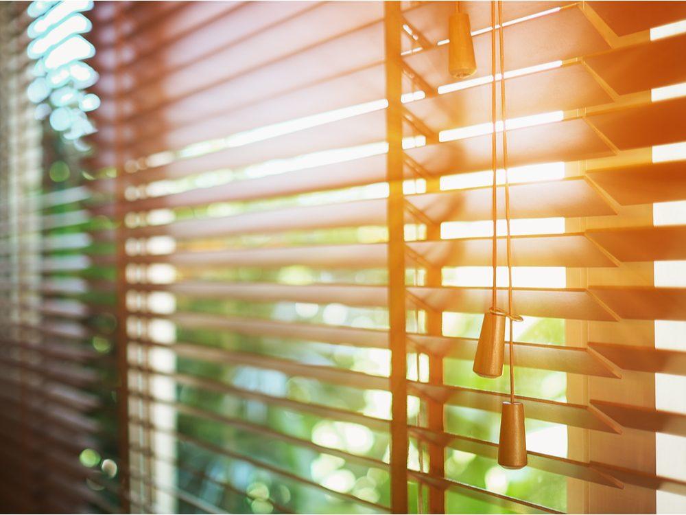 morning blinds
