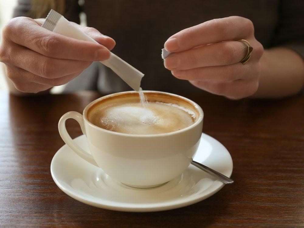 morning sugar coffee