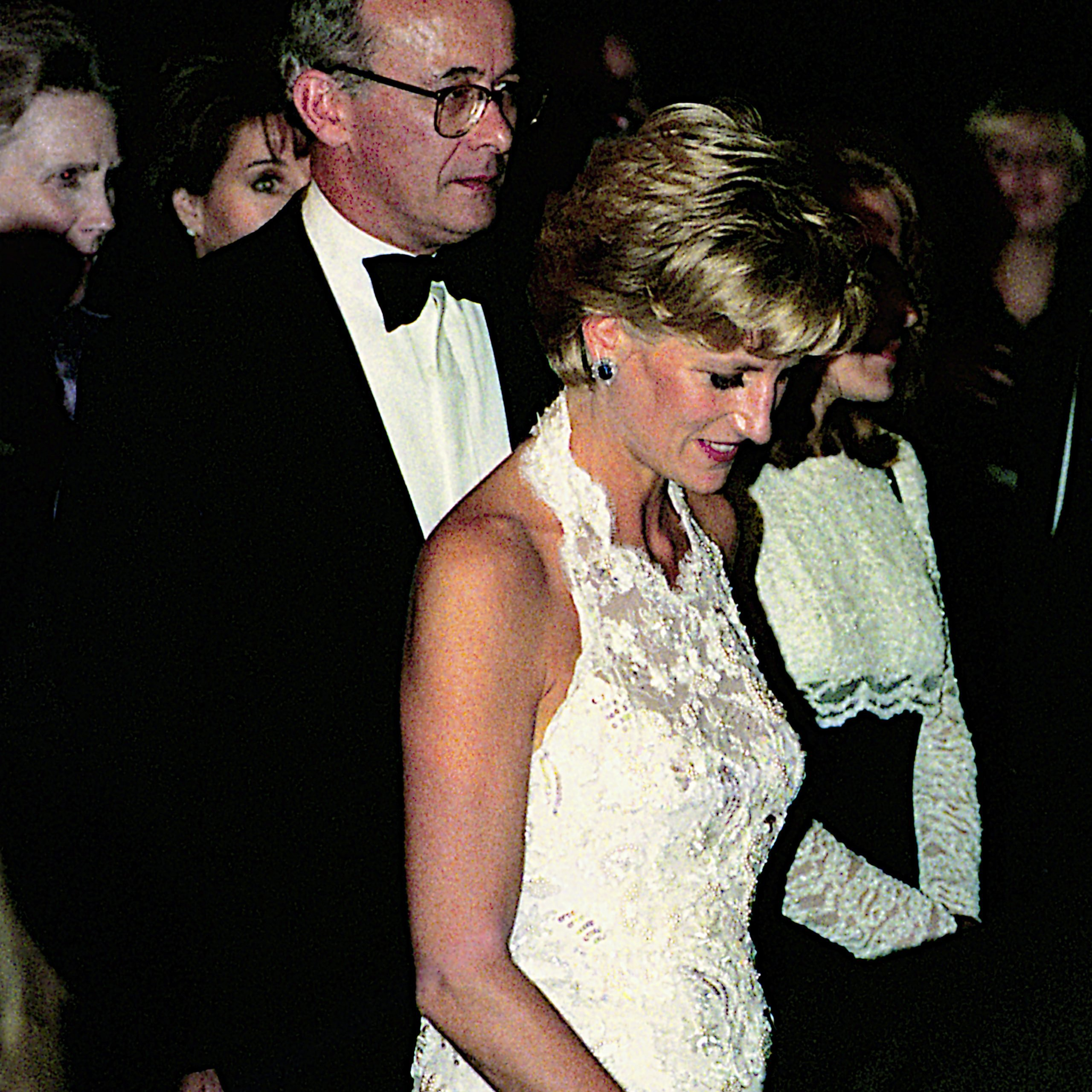 Princess Diana facts - white gown