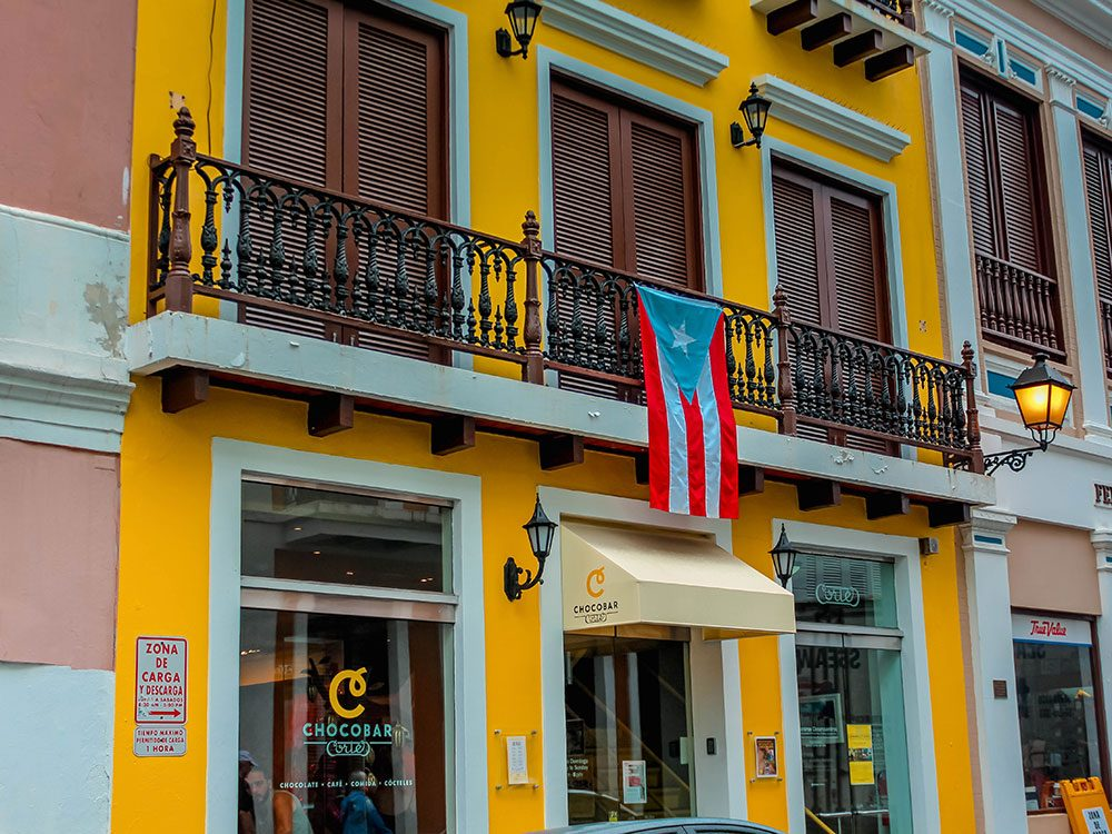 Puerto Rico facts - Chocobar Cortes Old San Juan