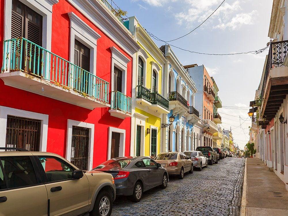 Puerto Rico facts - cobblestone streets