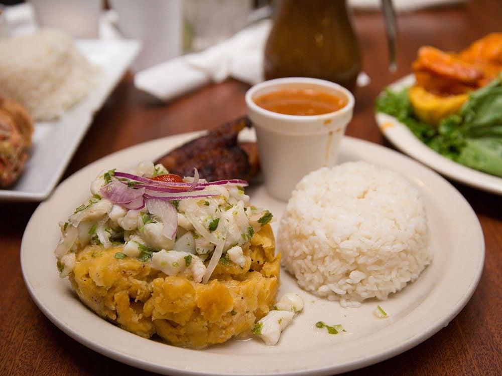 Puerto Rico fact - Making mofongo