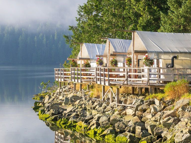 Quirky hotels across Canada - Clayoquot Wilderness Resort