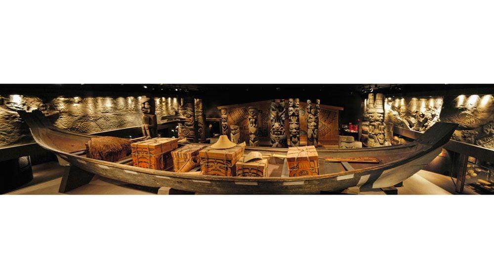 Royal B.C. Museum - Canoe
