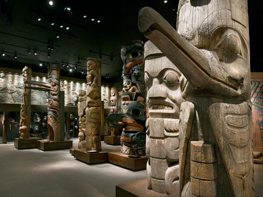 Royal British Columbia Museum - totems