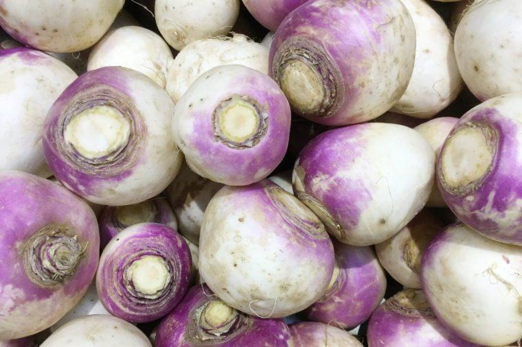 Butter turnips, rutabagas (Brassica napus subsp. Rapifera)