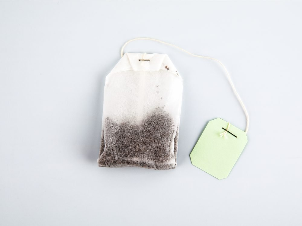 Black teabags