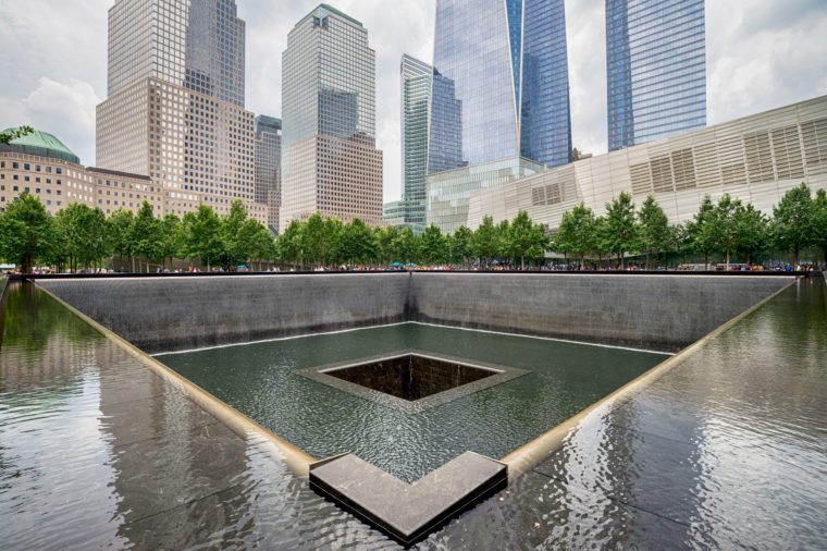 Memorial at World Trade Center