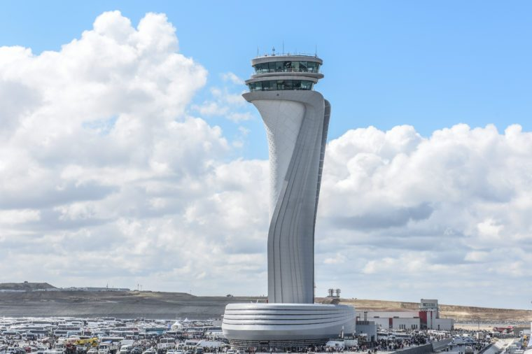 stanbul new airport observation tower
