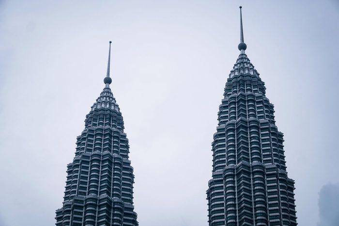 twin tower Petronas (KLCC).