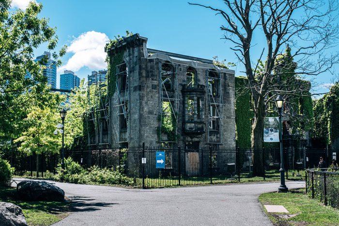 Roosevelt Island Smallpox Hospital Ruins