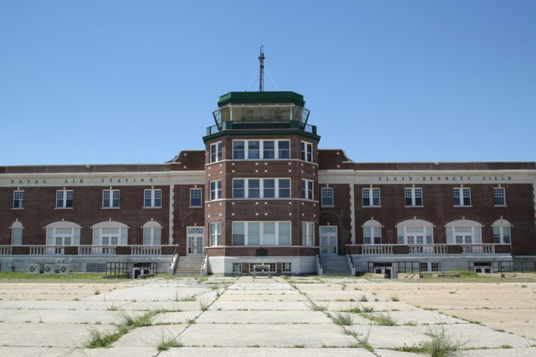 Historic Floyd Bennett Field Administration Building