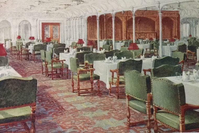 titanic dining saloon