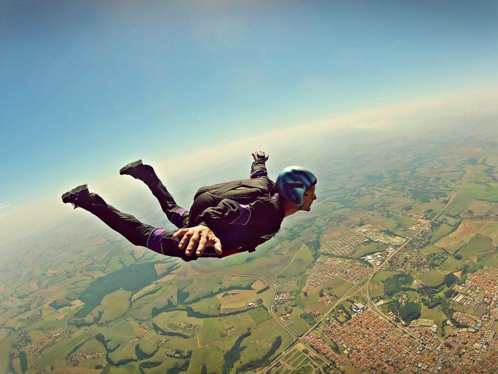 speed skydive