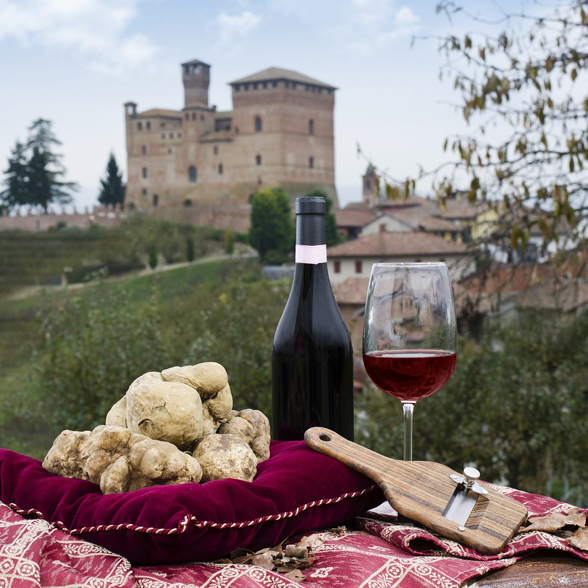 Still Life of White Truffles from Piedmont