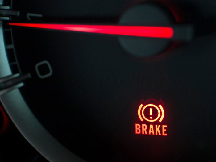 What to do when your brake light comes on