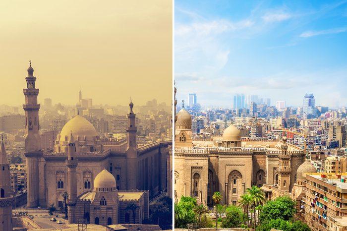 Cairo Egypt smog