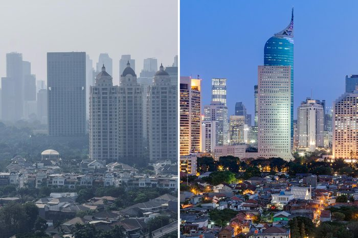 Jakarta Indonesia smog