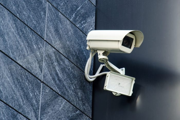 Security camera Private property protection