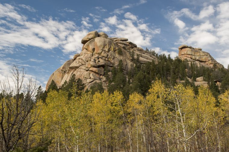 Vedauwoo rock formation in Laramie Wyoming