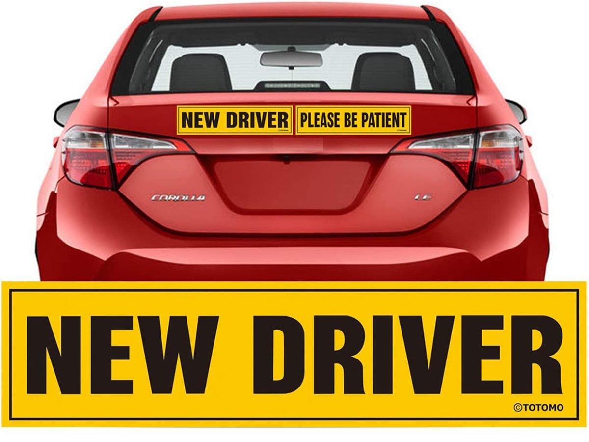 Car Gadgets - New Driver Bumper Sticker