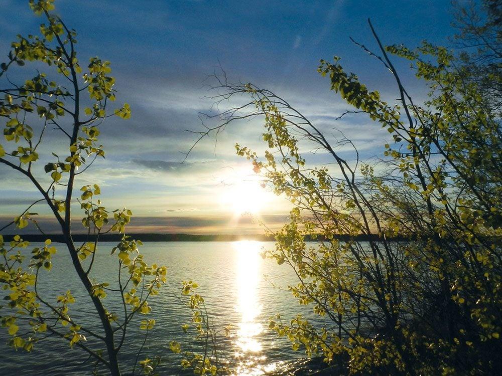 Sunrise at Jan Lake, Saskatchewan