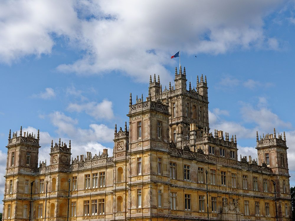 Downton Abbey movie - Highclere Castle