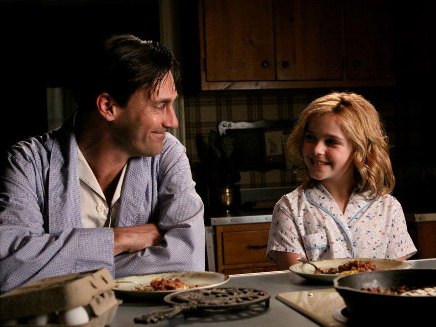 Mad Men quotes - Don Draper and daughter