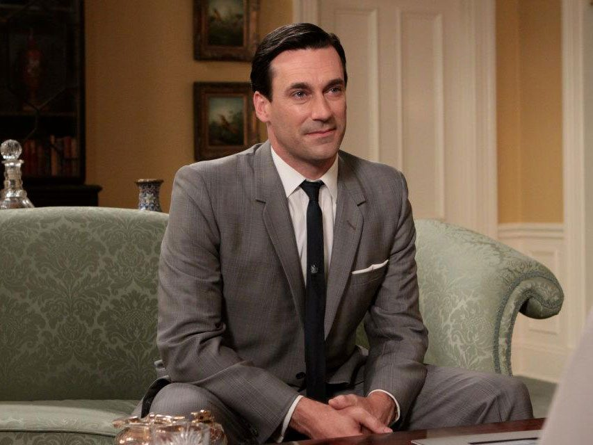 Mad Men quotes - Don Draper on a sofa