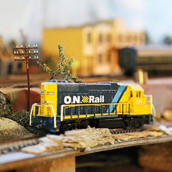 Check Out This Canadian's Incredible Model Train Collection!