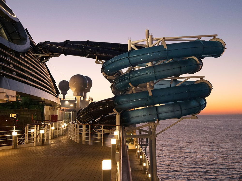 MSC Seaside - waterslides