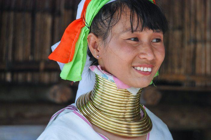 Karen tribe woman